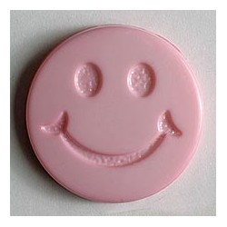 Kinderknopf Smiles  - Dill (1 Stk.) 19 mm