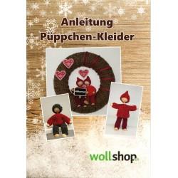 Strickanleitung - Püppchen- Kleider