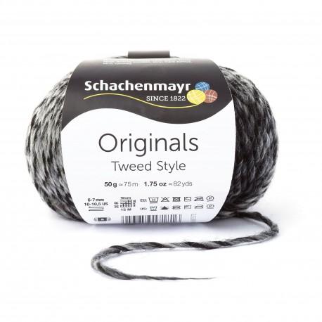 Tweed Style - Schachenmayr, 80 - schwarz tweed_10274