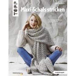 Maxi-Schals stricken - Topp
