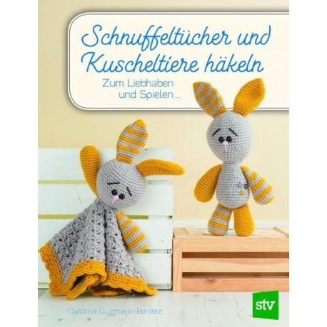 Schnuffeltücher und Kuscheltiere häkeln - stv_10965