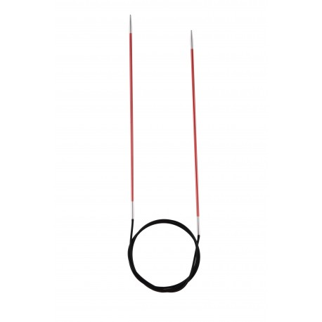 Rundstricknadel - Knit Pro Zing 120 cm, 2.00 mm_11098