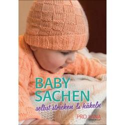 Baby Sachen selbst stricken & häkeln - Pro Lana