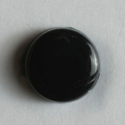 Knopf schwarz - Dill (1 Stk.) 8 mm