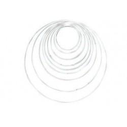 Metallring weiss - Glorex
