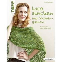 Lace stricken mit Sockengarnen - Topp_11944