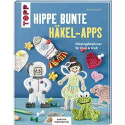 Hippe bunte Häkel-Apps - Topp