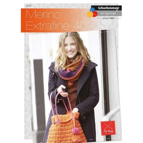 Schachenmayr Booklet Merino Extrafine 40_1197