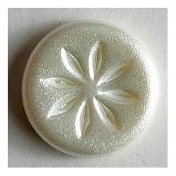 Knopf Polyamid perl 14 mm - Dill