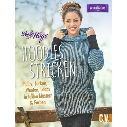 Woolly Hugs Hoodies stricken - CV_12733