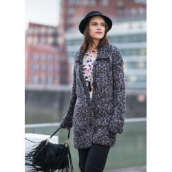 Oversized Jacke 9231 - Gratis Download