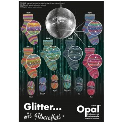 Glitter... mit Silbereffekt - Opal