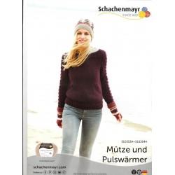 Mütze und Pulswärmer - Gratis Anleitung