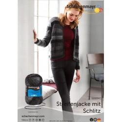 Streifenjacke mit Schlitz - Gratis Anleitung_13438