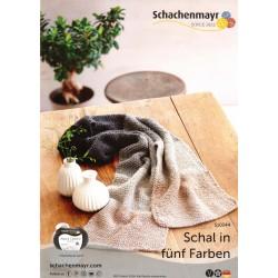 Schal in fünf Farben 10344 - Gratis Anleitung_13448
