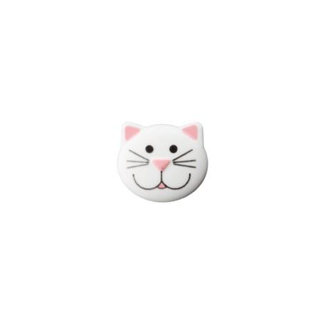 Katze Knopf mit Öse 20 mm - Union Knopf_14245