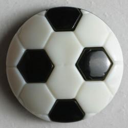 Knopf Fussball, mit Öse 13 mm - Dill_14567