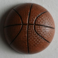 Knopf Basketball, mit Öse 20 mm - Dill_14612