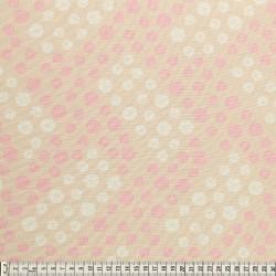 Stoffcoupon drops beige - MEZfabrics_14956