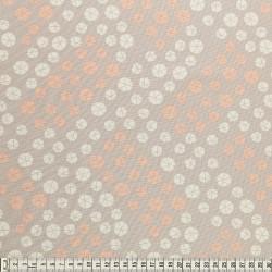 Stoffcoupon drops ocker - MEZfabrics_14961