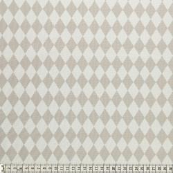 Stoffcoupon Rauten ocker - MEZfabrics_14965