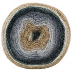 Mohair Dream - Schachenmayr, 00085 - beige/blaugrau/schwarz