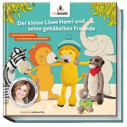 Der kleine Löwe Henri und seine gehäkelten Freunde - Becker Joest Volk