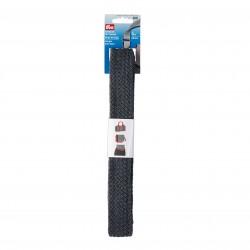 Gurtband für Taschen  40 mm, grau geflochten - Prym_15752