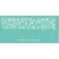 Merry Christmas & Happy New Year - Gutschein