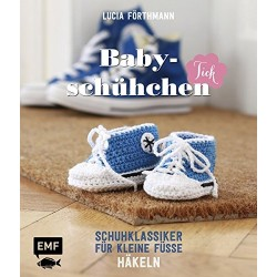Babyschühchen häkeln Schuhklassiker für kleine Füße - EMF_16470