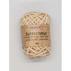 Juteschnur 10 x 0.03 m, beige - Glorex
