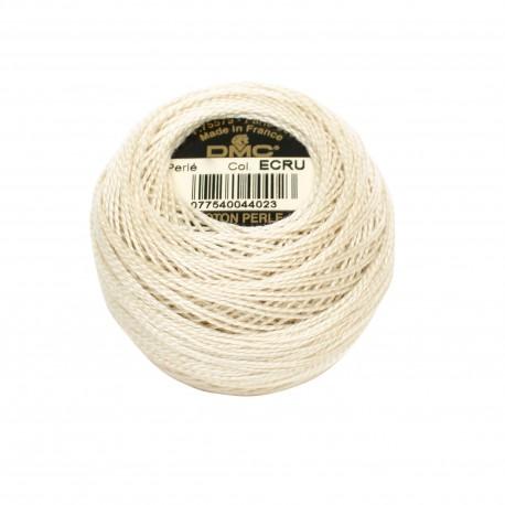 Coton Perlé Nr.5 Perlgarn - DMC, 000 - ecru_16633