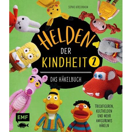 Helden der Kindheit 2, Das Häkelbuch - EMF_17385