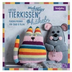 Woolly Hugs Lustige Tierkissen häkeln - CV_17603
