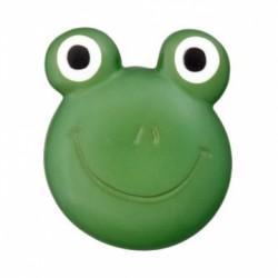 Polyesterknopf Öse Frosch dunkelgrün 20 mm - Union Knopf