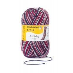 4-fädig Color 100g - Regia, 7708 - skimütze color_17881