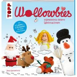 Wollowbies - Häkelminis feiern Weihnachten - Topp