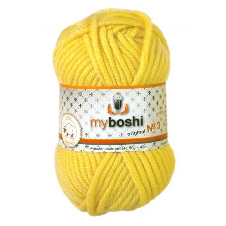 myboshi Wolle No. 3, 313 - löwenzahn_2674