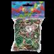 Rainbow Loom Gummibänder, tarnfarben mix_3084