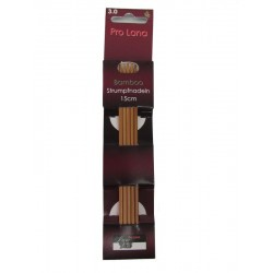 Strumpfstricknadeln - Pro Lana Bamboo 15 cm