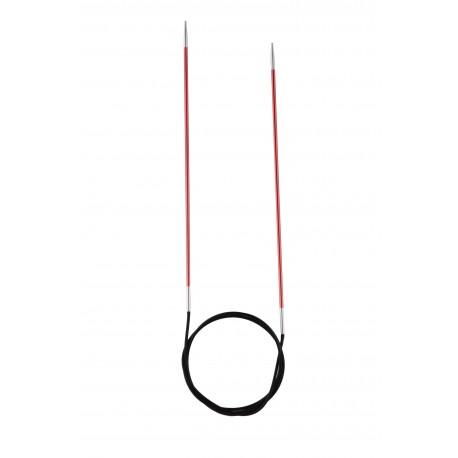 Rundstricknadel - Knit Pro Zing 60 cm, 2.0_4567