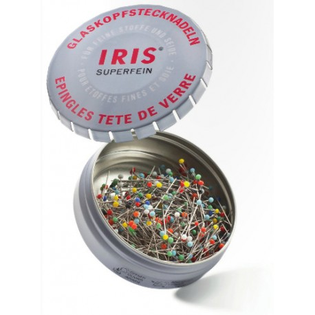 IRIS Glaskopf Stecknadeln_5370