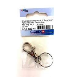Schlüsselanhänger mit Karabiner - Glorex
