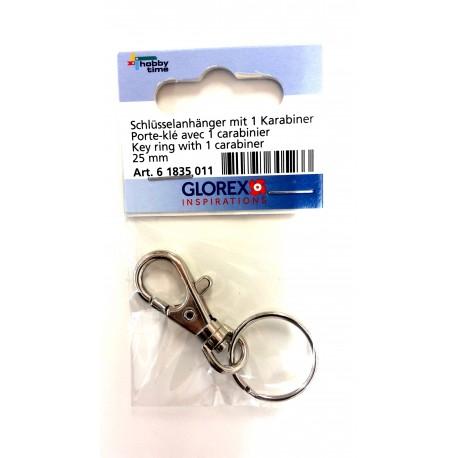 Schlüsselanhänger mit Karabiner - Glorex_5802