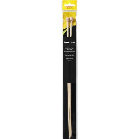Jackennadeln - IRIS Bambus 33 cm_7540