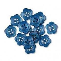Blue Blooms (13 Stk.)16 mm - Favorite Findings