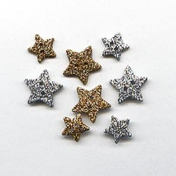 "Favorite Findings "" Sparkly Stars"" 13/18 mm_7720"