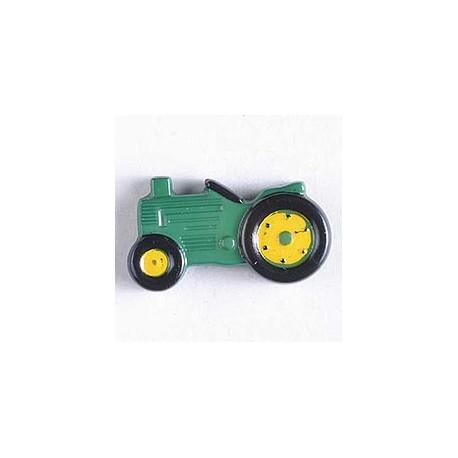 Kinderknopf Traktor - Dill (1 Stk.) 25 mm_7891