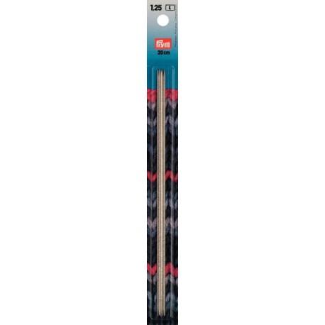 Nadelspiel Stahl 20cm - Prym, 1.25_7978