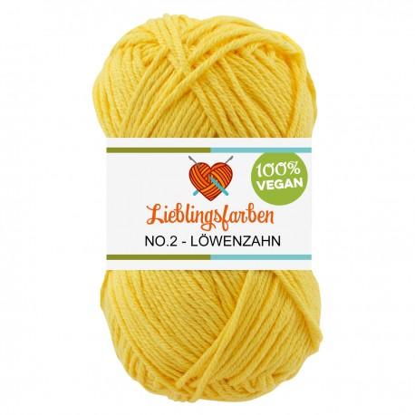 Lieblingsfarben - myboshi No. 2, 2130 - löwenzahn_8657